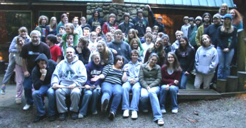 Jeremiah youth at 2008 retreat